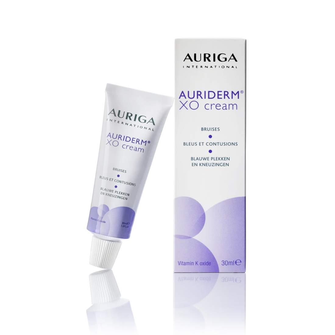 Rozácea, véraláfutás, bőrpír kezelő krém - Auriga AURIDERM XO