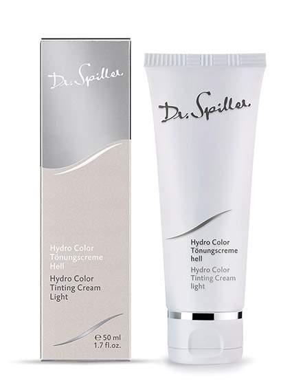 Színezett nappali hidratálókrém - Világos bőrre-Dr.Spiller Hydro Color Care