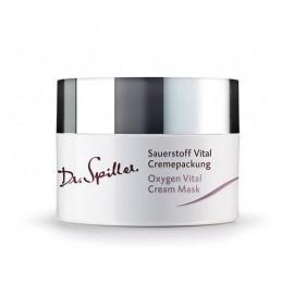 Krém-maszk arcápoló stresszes bőrre - Dr. Spiller Oxygen Vital Cream Mask