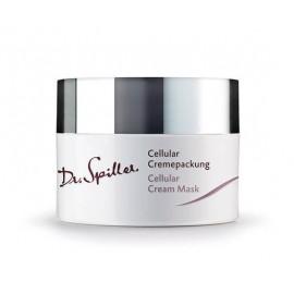 Feszesítő krémpakolás vízhiányos bőrre- Dr. Spiller Cellular Cremepackung