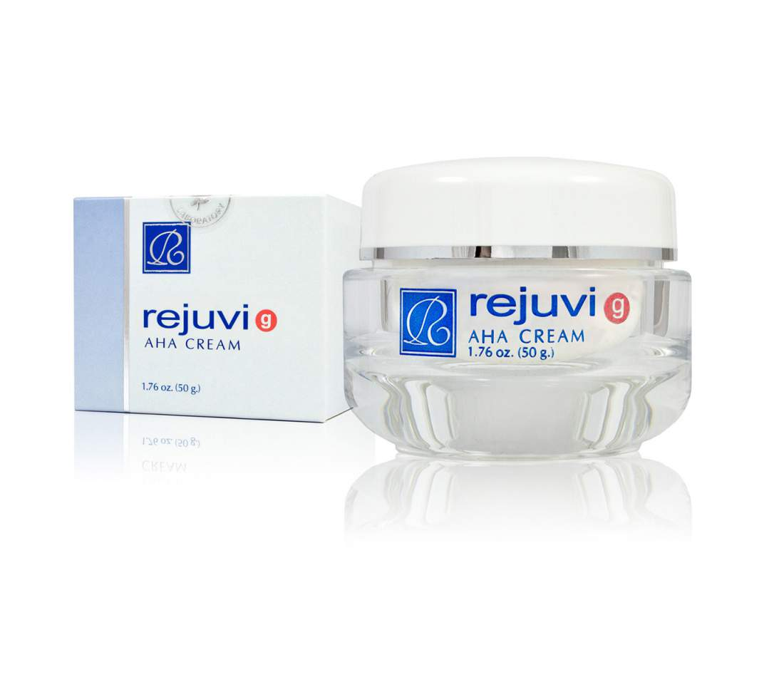 Bőrszín egységesítő, ránctalanító krém normál bőrre- Rejuvi AHA Cream