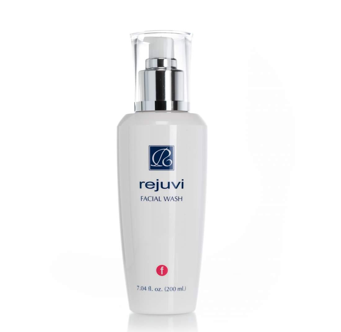 Habzó arclemosó gél zsíros, pattanásos bőrre - Rejuvi Facial Wash