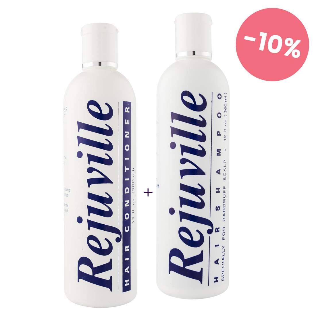 Korpásodás elleni hajápoló csomag - Rejuville Hair Shampoo&Conditioner