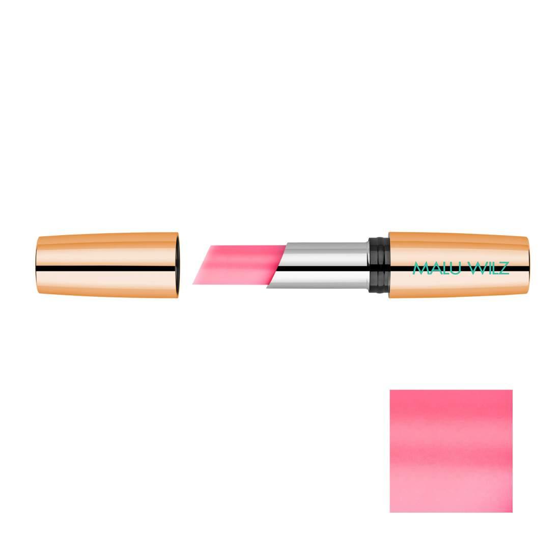 Ajakbalzsam önszínező pigmentekkel Nr. 08. - Malu Wilz Natural Glow Lip Bal