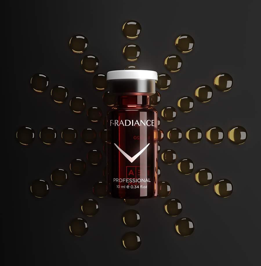 Halványító - pigmentáció elleni hatóanyag-koktél - Fusion Meso F-RADIANCE