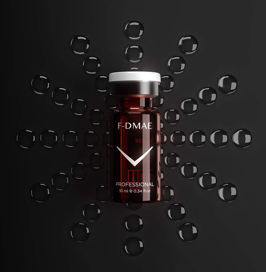 Azonnali bőrfeszesítő ampulla - DMAE 1% FM F-DMAE