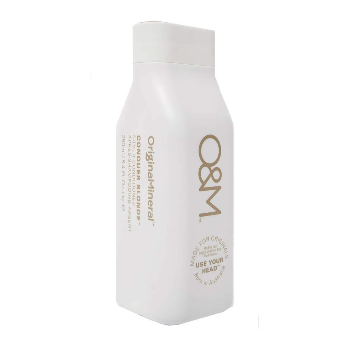 Hamvasító kondicionáló - O&M Conquer Blonde Silver Conditioner