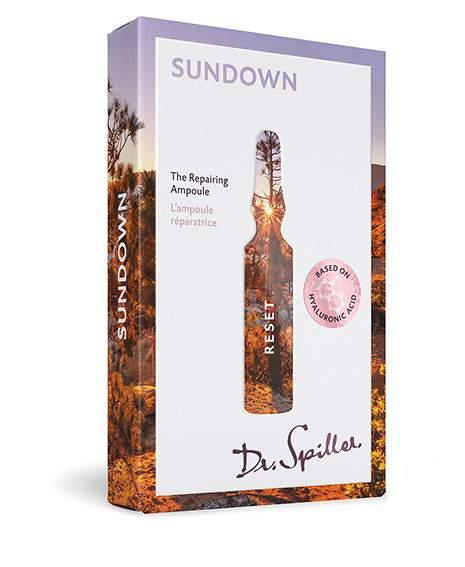 Napozás utáni bőrmegújító ampulla - Dr. Spiller Reset - Sundown Ampoule