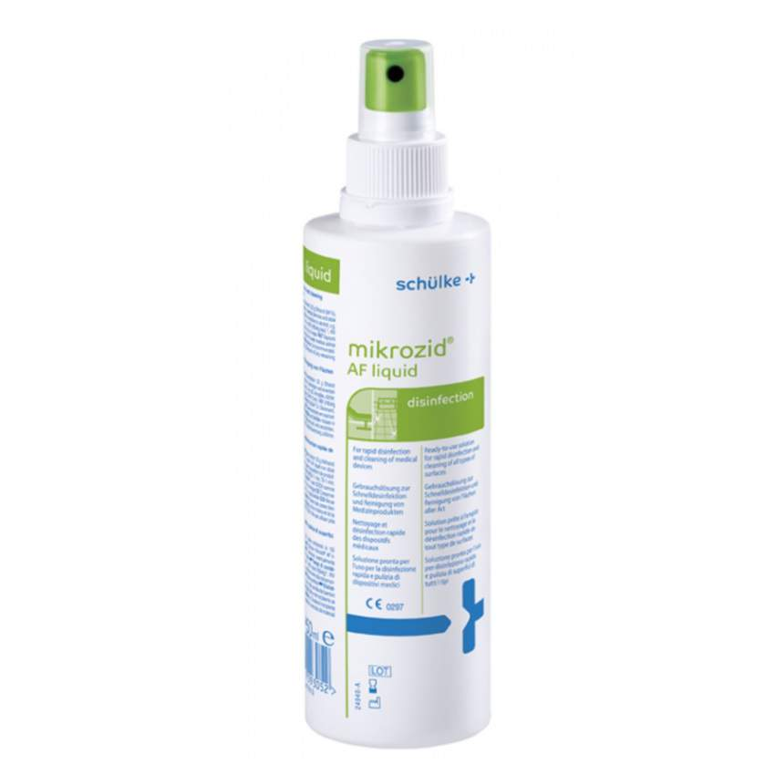 Baktericid, virucid hatású műszerfertőtlenítőszer - Mikrozid AF liquid 250m