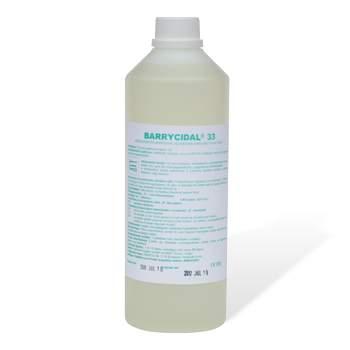 Baktericid, virucid hatású műszer fertőtlenítőszer 1 liter- Barrycidal 33