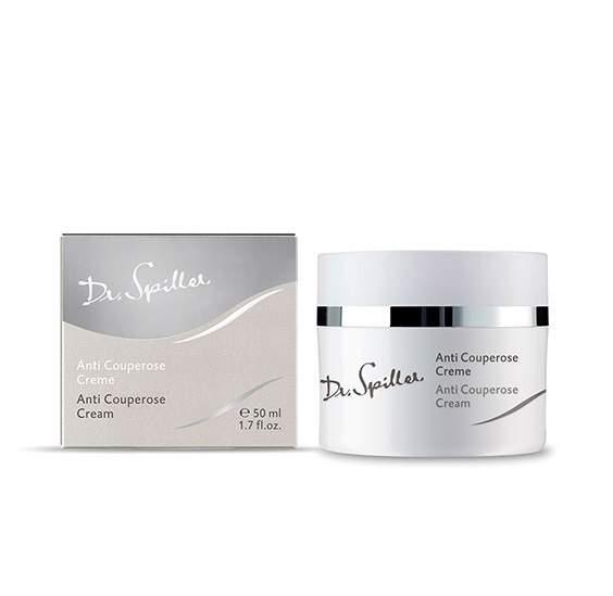 Speciális krém hajszáleres, rozáceás bőrre-Dr.Spiller Anti Couperose Cream