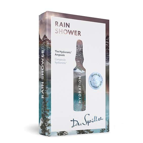 Hialuron ampulla 7X2 ml - Dr.Spiller Hydration - Rain Shower