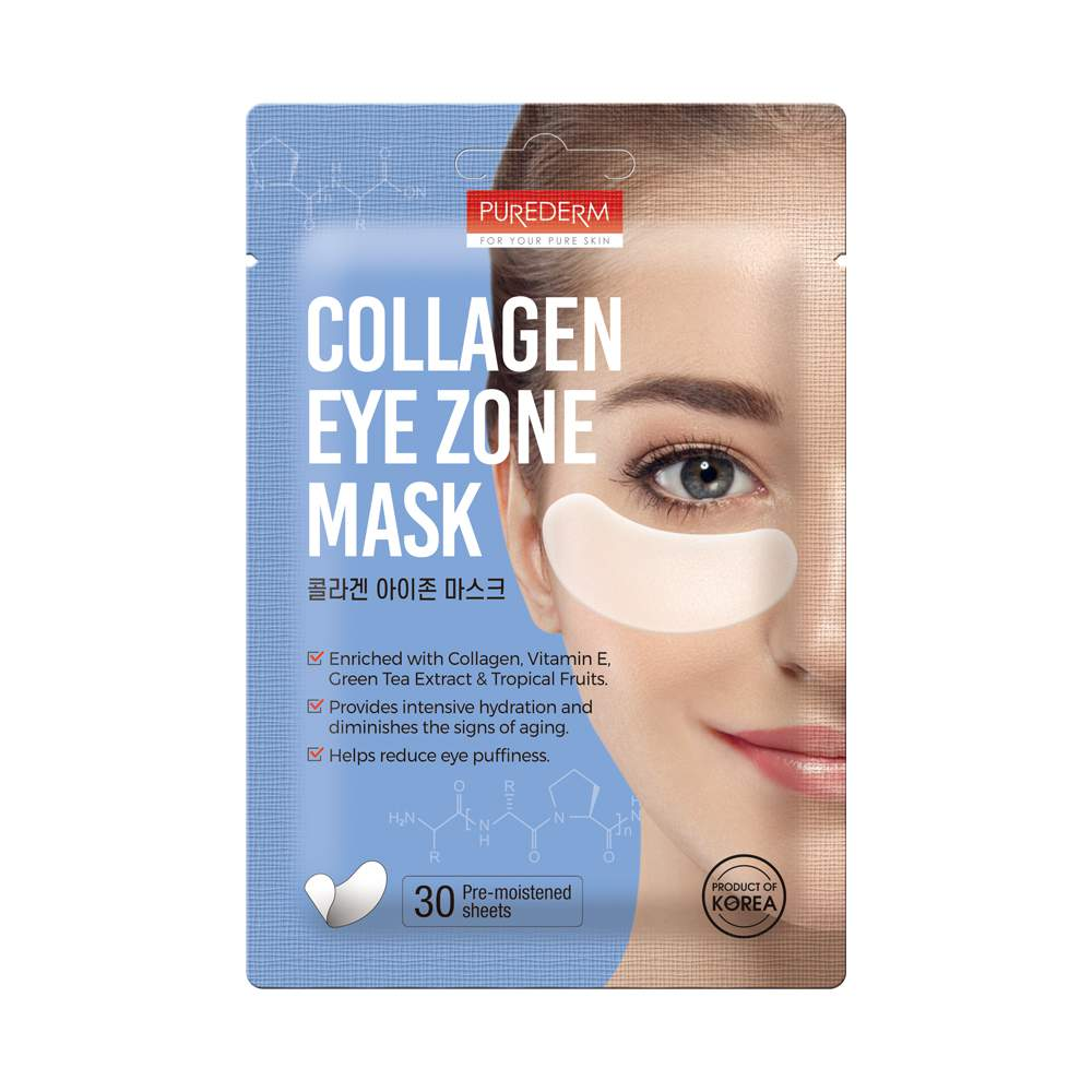 Collagen szemmaszk 15 pár - PureDerm Eye Zone Mask