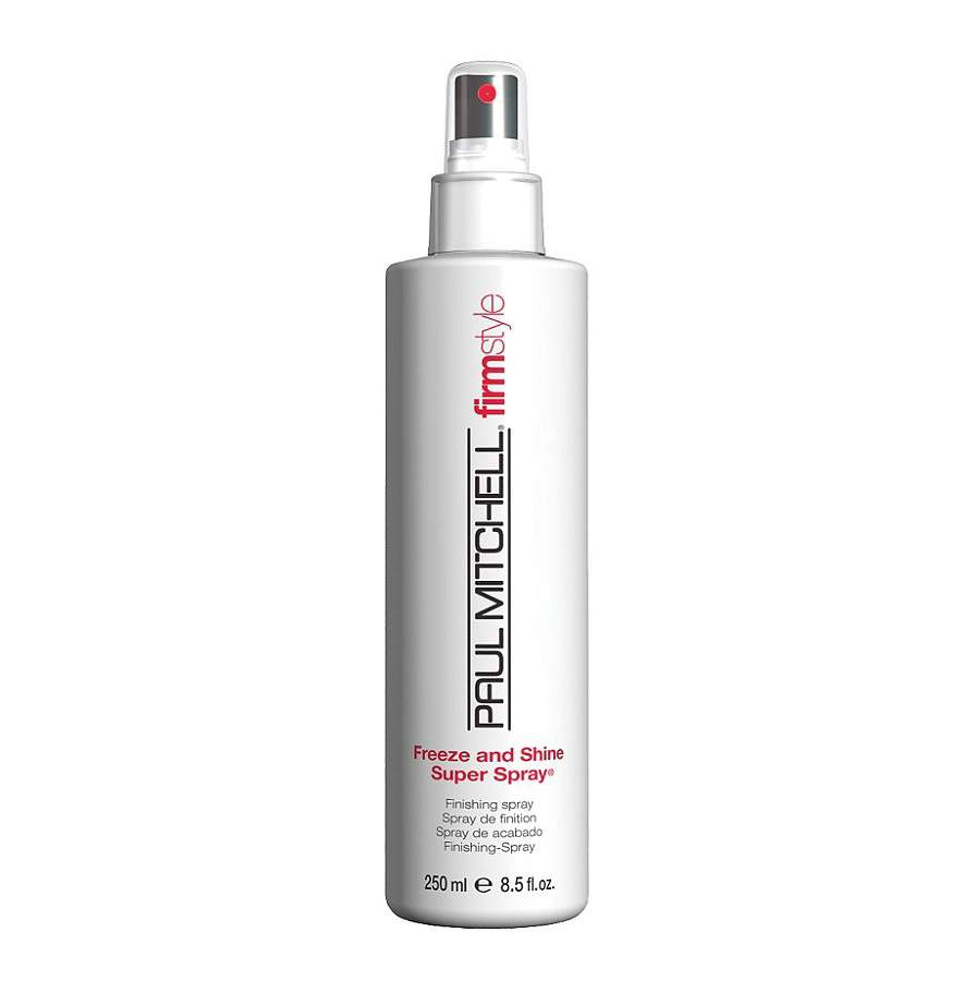 Pumpás hajrögzítő hajfény hajlakk - Paul Mitchell Freeze and Shine Super Sp