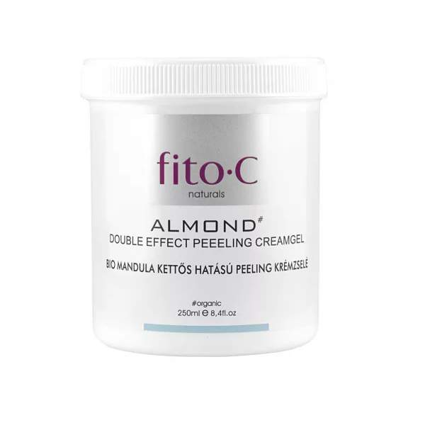 Bio mandula peeling krém - Fito C Double Effect Peeling Cream