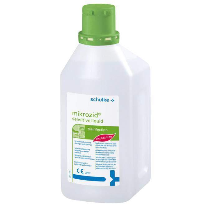 Baktericid, virucid hatású műszerfertőtlenítőszer 1000ml-Mikrozid AF liquid