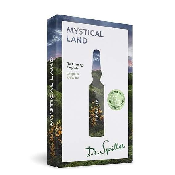 Bőrnyugtató hatású ampulla - Dr.Spiller Mystical Land - Rescue