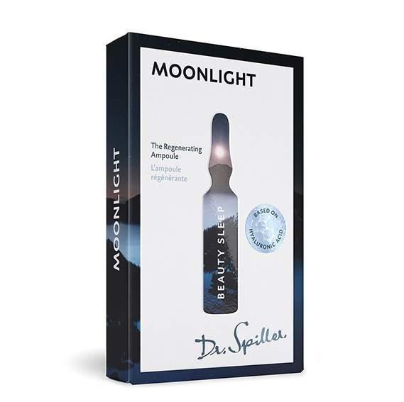 Regeneráló éjszakai ampulla Dr.Spiller Moonlight - Beauty Sleep Ampoule