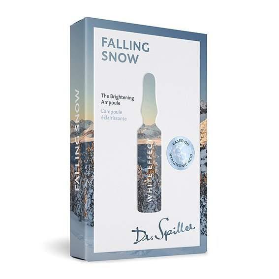 Bőrvilágosító ampulla 7X2 ml - Dr.Spiller White effect - Falling Snow