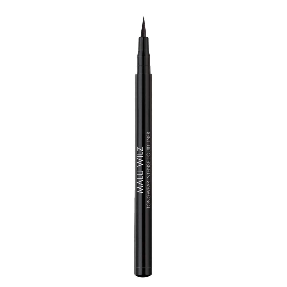 Extra fekete, tartós filces szemhéjtus - Malu Wilz Intense Liqud Liner