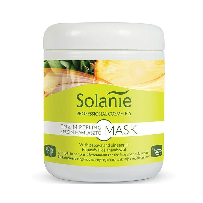 Enzimes hámlasztó hatású maszk - tégelyes -Solanie Enzim Peeling Mask