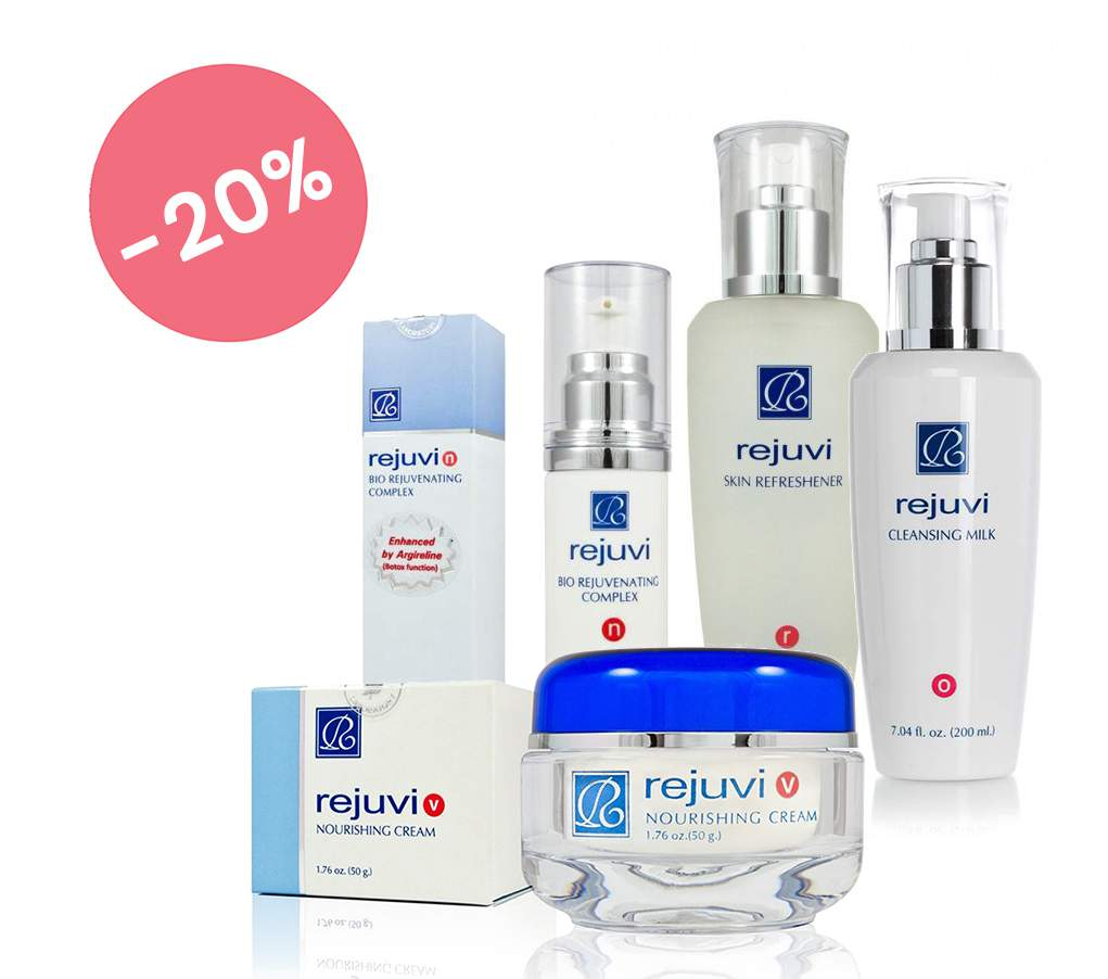 50+ arcápoló csomag napi használatra érett bőrre - Rejuvi 50+ Pack