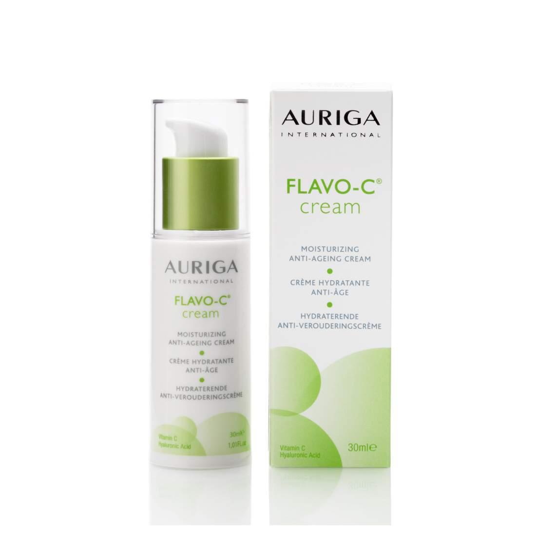 Egyedülálló bőröregedés gátló arckrém száraz bőrre- Auriga Flavo-C Cream