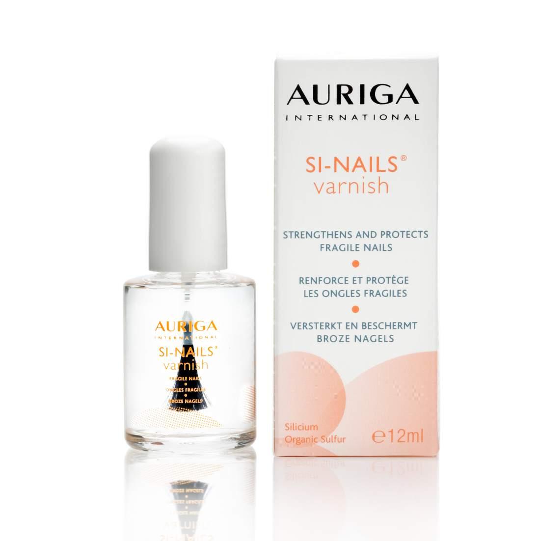 Körömerősítő körömlakk organikus szilíciummal - Auriga SI NAILS